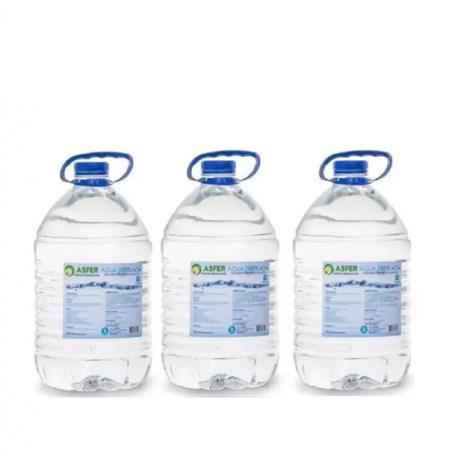 Água Destilada Asfer  5L  - 3 unidades
