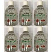 Álcool Gel 70 Antiséptico Tuti Amore C/ Aloe Vera 250G Caixa com 6 Unidade
