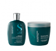 Alfaparf  Semi Di Lino Reconstruction Reparative Shampoo 250ml +Máscara 500ml