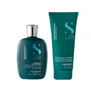 Alfaparf Semi di Lino Reconstruction Reparative Shampoo 250ml+Leave-in 200ml