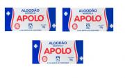 Algodão Hidrófilo Apolo em Rolo Caixa 100g - 3 Unidades