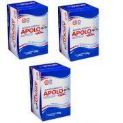 Algodão Hidrófilo Apolo em Rolo Caixa 50g - 3 Unidades