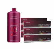 Amend 1 Água Oxigenada 40 Volumes 950ml+6 Coloração Creme 0,6 50g