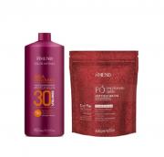 Amend Aloe Vera e Silicone - Pó Descolorante 300g+Oxigenada Volume 30 950ml