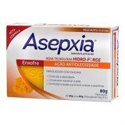 Asepxia Sabonete Antiacne Enxofre Ação Antioleosidade 80g