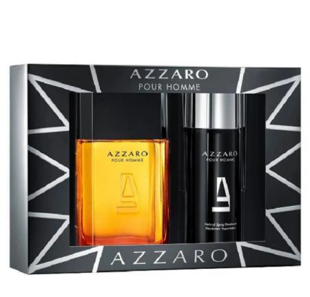 Azzaro Pour Homme Masculino Eau de Toilette 100ml+Deodorant 150ml
