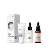 Beyoung Facial Essential FPS 50 35g+Studio Primer 30ml+Tracta Vitamina C Sérum Antioxidante 30ml