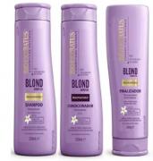 Bio Extratus Blond Bioreflex kit sh + cond + fina