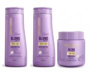Bio Extratus Blond Bioreflex kit sh + cond + masc 250g