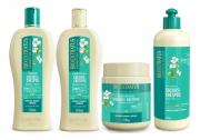 Bio Extratus Cachos e Crespos Shampoo+Condicionador+Finalzador+Mascara 500g