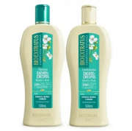 Bio Extratus Cachos e Crespos Shampoo+Condicionador 500ml