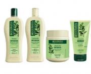 Bio Extratus Jaborandi Quad 500g (Shampoo + Cond + Banho de creme + Finalizador)