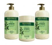 Bio Extratus Jaborandi Trio (Shampoo + Cond + Banho de Creme 1L)