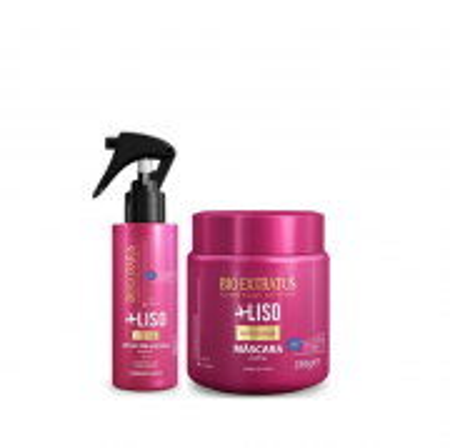 Bio Extratus Mais Liso - Finalizador Spray 100ml+Mascara 250g