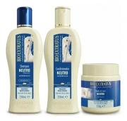 Bio Extratus Neutro shampoo + condicionador + Máscara 500ml