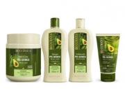Bio Extratus Pós-Química Shampoo+Condicionador+Banho de Creme 500ml+Finalizador 150ml