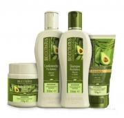 Bio Extratus Pos-Quimica Shampoo+Condicionador+Banho de Creme 250ml+Finalizador 150ml