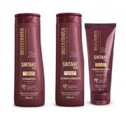 Bio Extratus Shitake Plus (Shampoo+Cond 350g+ Finalizador Termoprotetor 200g)