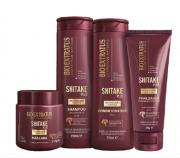 Bio Extratus Shitake Plus (Shampoo+Cond 350g+Mascara 250g+ Finalizador Noite/Dia 200g)