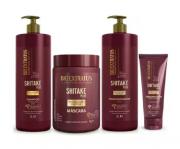 Bio Extratus Shitake Plus (Shampoo+Condicionador 1L+Mascara 1Kg+Finalizador Termoprotetor 200g)