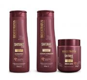 Bio Extratus Shitake Plus (Shampoo+Condicionador 350g+Mascara 500g)