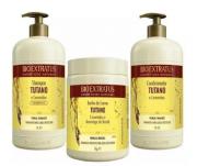 Bio Extratus Tutano Trio(Shampoo+Cond+Mascara 1L)