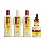 Bio Extratus Tutano Quad Shampoo+Cond+masc+Creme SIlicone 250g+Oleo Sillitan 40ml