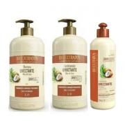 Bio Extratus Umectante Óleo de Coco (Shampoo+Condicionador 1L+Finalizador 500g)