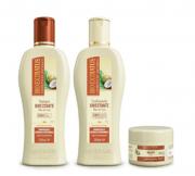 Bio Extratus Umectante Óleo de Coco (Shampoo+Condicionador 250g+Banho de Creme 90g)