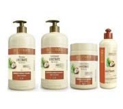 Bio Extratus Umectante Óleo de Coco (Shampoo+Condicionador+Banho de Creme 1L+FInalizador 500g)