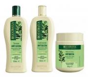 Bio Extratus Jaborandi Trio (Shampoo + Cond + Banho de creme 500g)