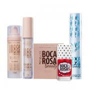 Boca Rosa Beauty By Payot Kit Make Basiquinha (Base 1+Corretivo 1+Pó Solto 1+Mascara de Cilios+Lip Tint)