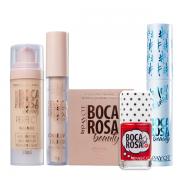 Boca Rosa Beauty By Payot Kit Make Basiquinha (Base 2+Corretivo 2+Pó Solto 2+Mascara de Cilios+Lip Tint)