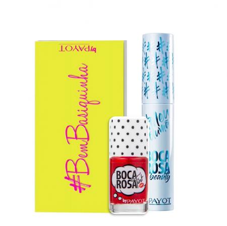 Boca Rosa Beauty by Payot Kit Make Up (Paleta de Sombras+Lip Tint+Mascara de Cilios)