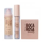 Boca Rosa Beauty By Payot Kit pele Perfeita (Base 2+Corretivo 2+Pó Solto 2)
