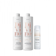 BRAÉ Divine Anti-frizz - Shampoo+Condicionador 1000ml+Bond Angel Ph Acidificante  250ml