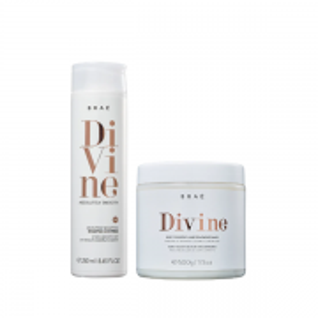 Brae Divine Shampoo 250ml + Máscara 500g