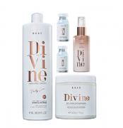 Brae Divine Shampoo Antifrizz 1L+Mascara 500g+Serum 60ml+ 2 Ampolas 13ml