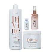 Brae Divine Shampoo Antifrizz 1L+Mascara 500g+Serum 60ml+Ampola 13ml