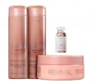 Brae Revival Shampoo+Cond 250ml+Masc 200ml+Power Dose 13ml