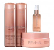 Brae Revival Shampoo+Cond 250ml+Masc 200ml+Shine Oil 60ml