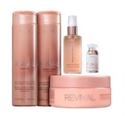 Brae Revival Shampoo+Cond 250ml+Masc 200ml+Shine Oil 60ml+Power Dose 13ml