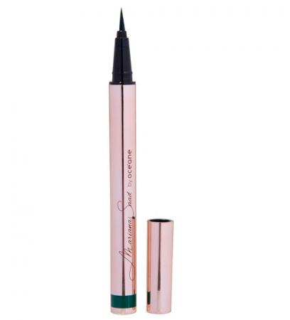 Caneta Delineadora Mariana Saad by Océane - Eyeliner Pen Real Dark Green
