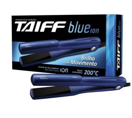 Chapinha Profissional Taiff Blue Ion Bivolt Automatico 200c°