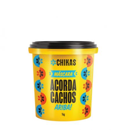 Chikas Acorda Cachos - Mascara 1Kg