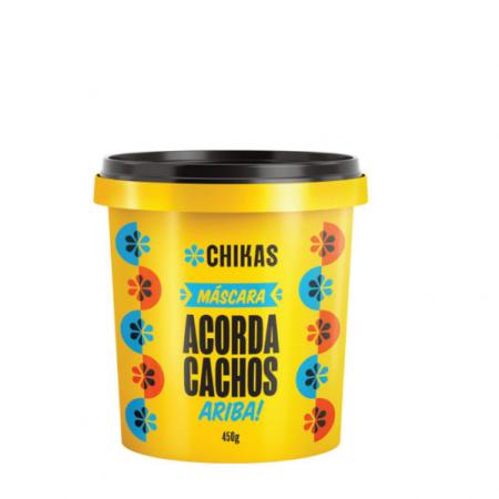 Chikas Acorda Cachos - Mascara 450g