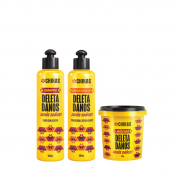 Chikas Deleta Danos - Shampoo+Condicionador 300ml+Mascara 450g