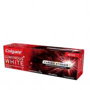 Colgate Creme Dental Luminous White Carvão Ativado - 70g