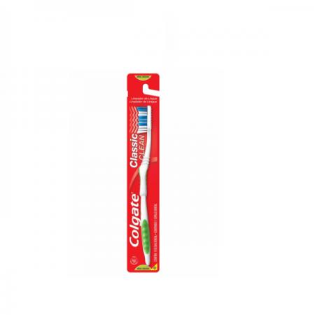 Colgate Escova Dental Classic Clean Cores Variadas - 1 Unidade