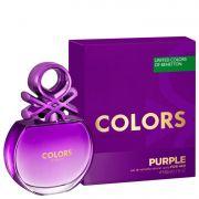Colors Purple Benetton Eau de Toilette - Perfume Feminino 80ml